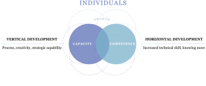 Competency and Capacity Growth for individuals